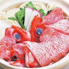 釣キンキ鍋(味噌・塩)1人前 2,000円