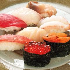 上生寿司(1人前)1,500円