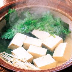 湯豆腐 一人前 500円